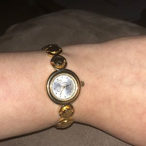 Disney Store Exclusive Gold Tone Watch